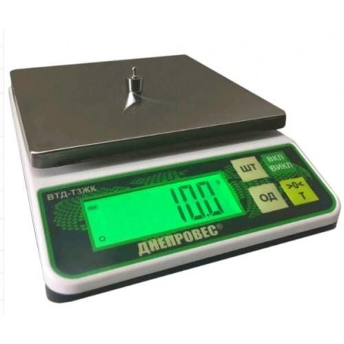 Весы фасовочные ВТД-2Т3ЖК. Точность 0,1г.
