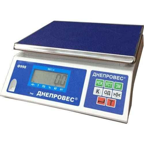 ВТД-6/0,1ФЛ.  Макс. 6 кг. Точность 0,1 г.