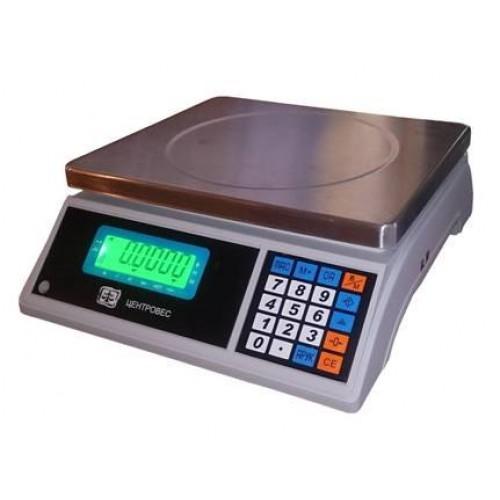 ВТЕ-Центровес -15-Т3С3.  Макс. 15 кг. Точность 0.5 г.