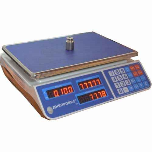 ВТД-6ЕЛ-1.  Макс. 6 кг. Точность 1 г.